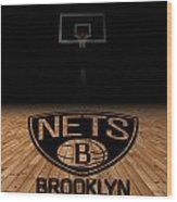 Brooklyn Nets Wood Print