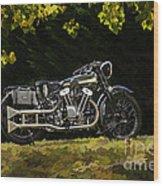 Brough Superior Ss 100 Wood Print