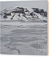 Brown Bluff, Antarctica Wood Print