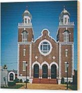 Brown Chapel In Selma Alabama Wood Print