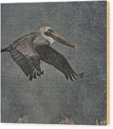 Brown Pelican 2 Wood Print