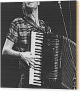 Bruce Hornsby Wood Print
