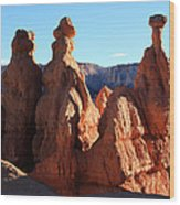 Guardians Of The Canyon Wood Print