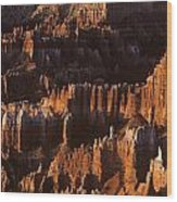 Bryce Canyon National Park Hoodo Monoliths Sunrise Southern Utah Wood Print