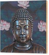 Buddha Statue Denver Wood Print