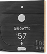 Bugatti Type 57 Wood Print