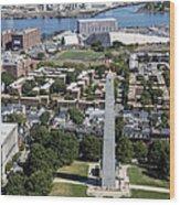 Bunker Hill Monument, Boston Wood Print