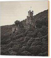 Burg Sooneck Am Rhine Wood Print