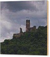 Burgruine Furstenberg Rheindiebach Wood Print