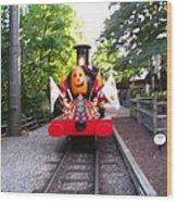 Busch Gardens - 121213 Wood Print