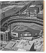 Busch Stadium Saint Louis Mo Wood Print