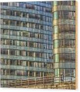 Bvg Building Wood Print