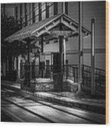 Cadrecha Plaza Station Wood Print
