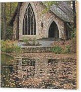 Callaway Gardens Chapel-pine Mountain Georgia Wood Print