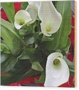 Calli Lily Wood Print