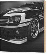 Camaro Stripes Wood Print