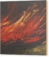 Camberwell Skies Wood Print