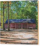 Camp Milton Wood Print
