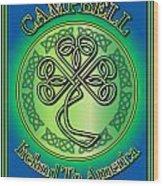 Campbell Ireland To America Wood Print