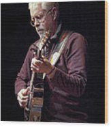 Canadian Folk Rocker Bruce Cockburn Wood Print