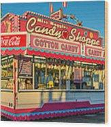 Candy Shoppe Wood Print