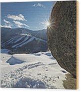 Cannon Mountain - White Mountains New Hampshire Wood Print