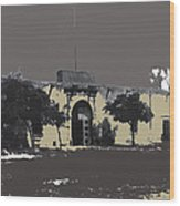 Canutillo Hacienda As Given To Pancho Villa  C.1920-2013 Wood Print