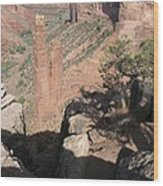 Canyon De Chelly Spider Rock Wood Print