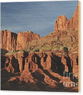 Capital Reef National Park Wood Print