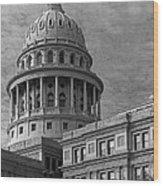 Capitol At Dawn Wood Print