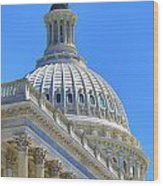 Capitol Dome Wood Print