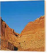 Capitol Reef National Park, Southern Wood Print