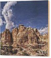 Capitol Reef National Park Utah Usa Wood Print