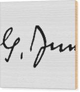 Carl Gustav Jung  Wood Print