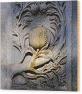 Carlos V Pillar Wood Print