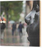 Carmen Awake Street Sculpture Wood Print