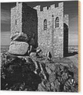 Carn Brea Castle Wood Print
