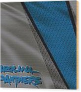 Carolina Panthers Uniform Wood Print