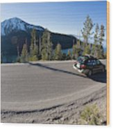 Cars Driving Along Hwy 89 Over Emerald Wood Print