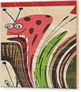 Cartoons Kids Love Electronic Survillance Organic Spy Agents Wood Print