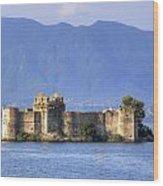 Castelli Di Cannero Wood Print
