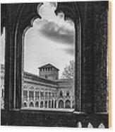 Castello Visconteo Wood Print