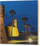 Castillo De San Marcos St. Augustine Florida Wood Print