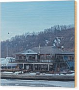Cathedral Bluffs Yacht Club At Toronto Wood Print