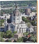 Cathedral Of St. Paul Wood Print