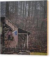 Cuttalossa Mill Wood Print
