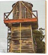 Cayucos Wind Farm Wood Print