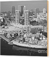 Channel District Tampa Florida Wood Print