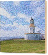 Chanonry Point Lighthouse Wood Print