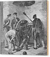 Chapultepec, 1847 Wood Print